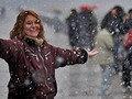 1918 óta először havazott az argentin fővárosban