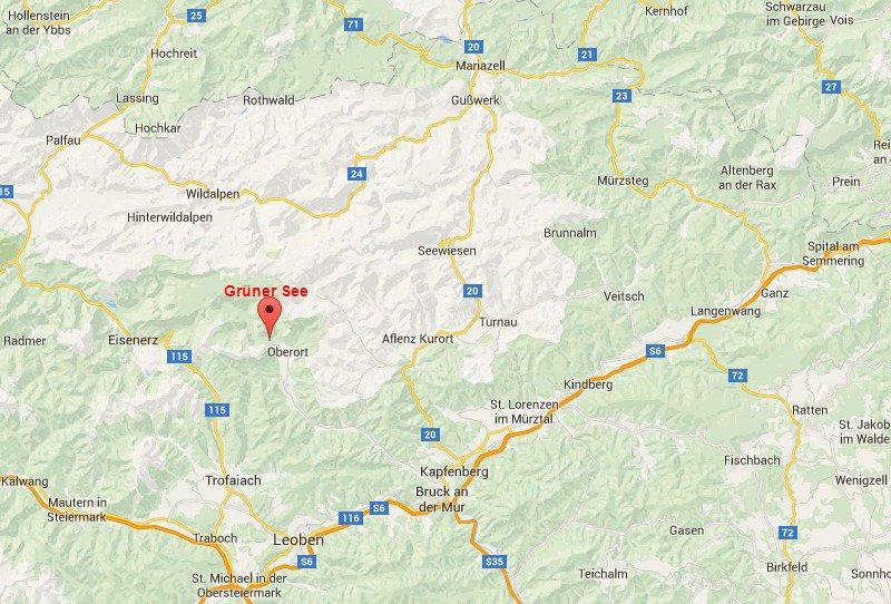 ausztria térkép régiók Grüner See a Google térképen   Grüner See   Ausztria / Magas  ausztria térkép régiók