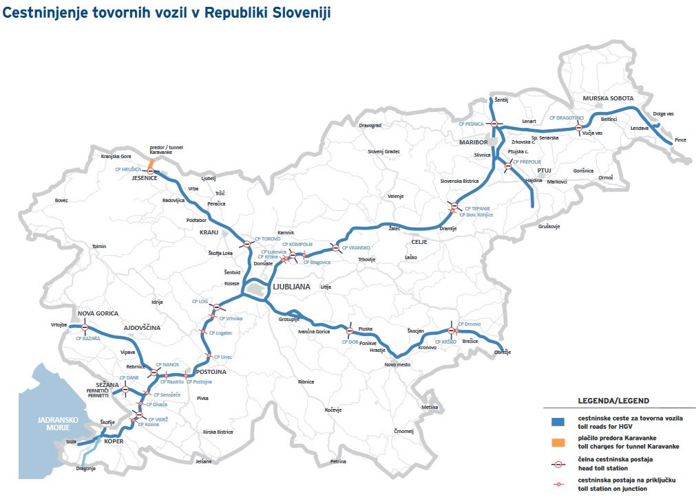 Szloven Autopalya Matrica Arak Infok Autopalyamatrica Es