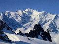 Illemhely 4260 méter magasan, a Mont Blanc alatt