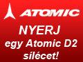 Kisorsoltuk az Atomic D2 sílécet!