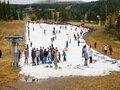 Hol van már a tavalyi hó? Azon rendezik az olimpiát!