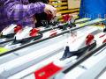 A sílécgyártók is versenyeznek a Téli Olimpián