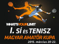 Az Első Sí és Tenisz Magyar Amatőr Kupa programja