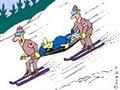 Melyik a veszélyesebb: a sí vagy a snowboard?