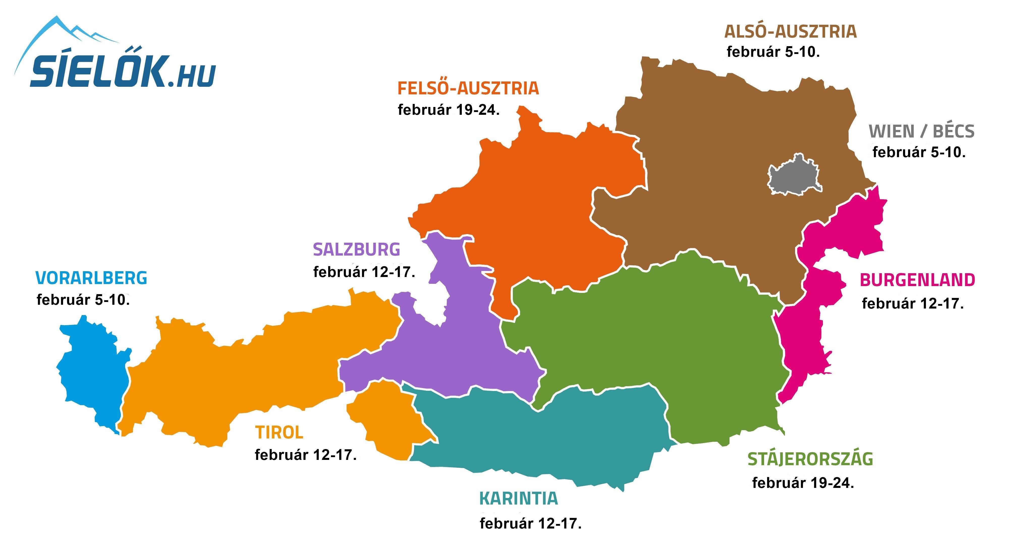 Teli Siszunet Ausztria Iskolaiban A 2019 20 As Tanevben