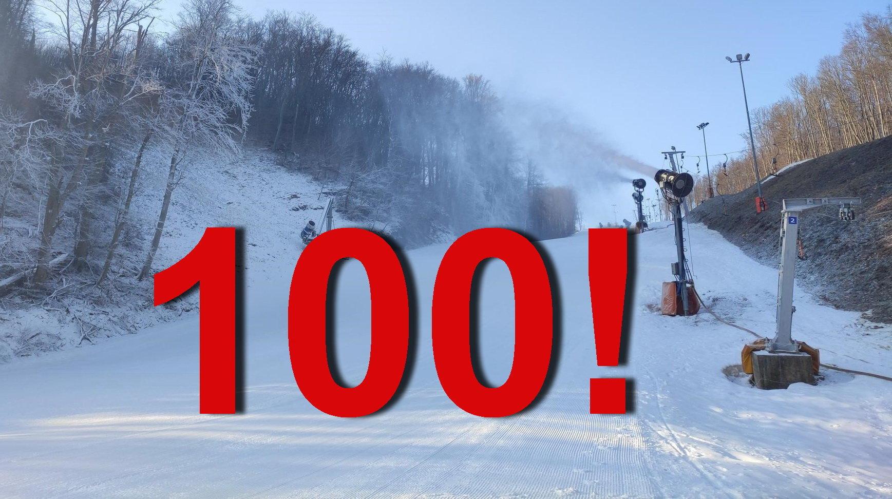 Eplény: 100. napnál tart a síterep ebben a szezonban