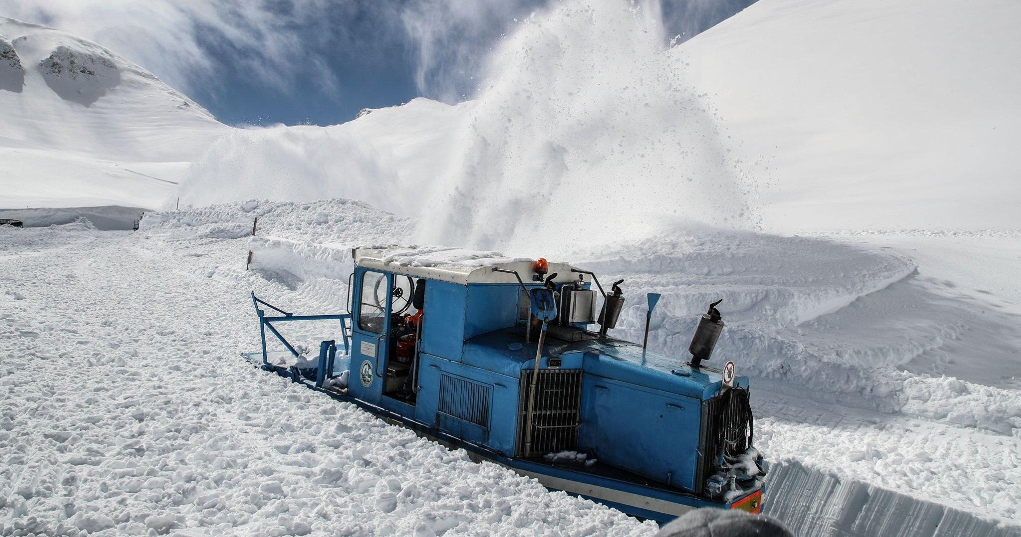 Grossglockner-panorámaút: még nem indították be a hómarókat