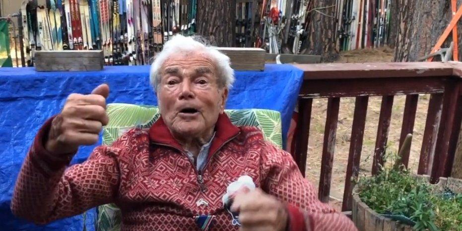 Így köszöntötték Hollay Mártont a 100. születésnapján