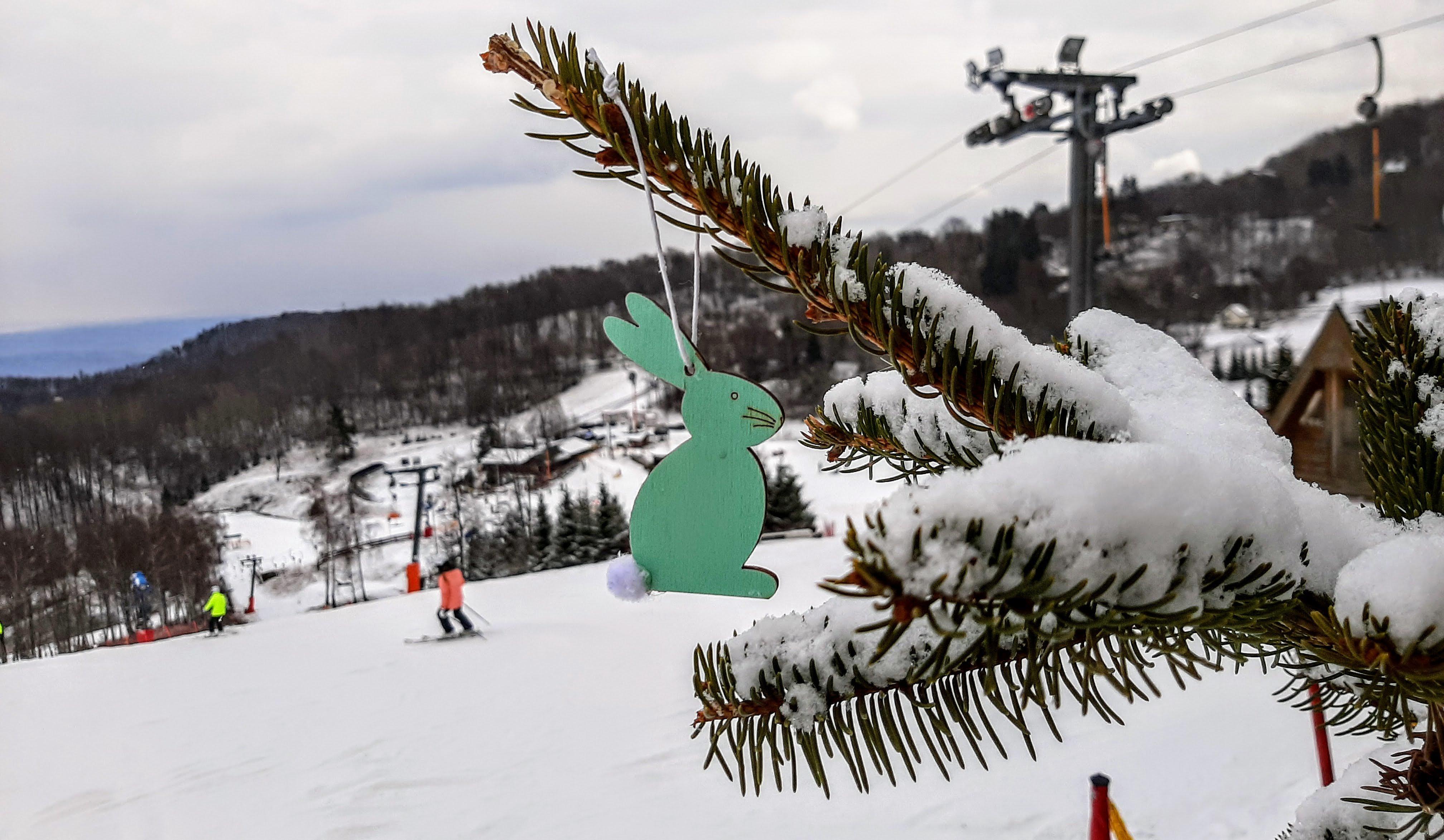 Húsvéthétfőn még lehet síelni a Mátrában!