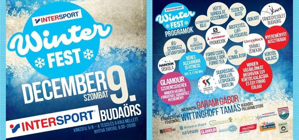 132a8df4dae7 Egy igazi télnyitó eseményt rendez az Intersport a téli sportok  szerelmeseinek: egész napos Winterfest családi fesztivál lesz 2017.  december 9-én különleges ...