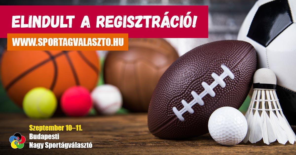 Szeptemberben újra lesz Nagy Sportágválasztó Budapesten