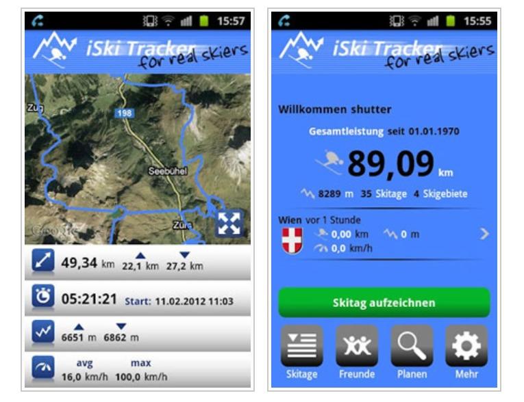 Iski Tracker Adatgyujto Alkalmazas Okostelefonra