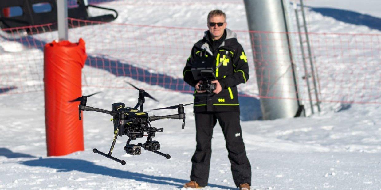 Val Thorens: drónokkal teszik biztonságosabbá a síterepet